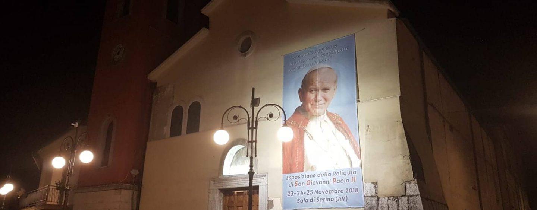 Serino ospita la reliquia di San Giovanni Paolo II, ecco il programma