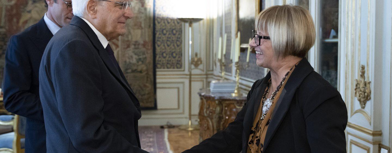 Emergenza roghi in Campania, D'Amelio incontra Mattarella