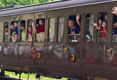 """""""Sannio Express"""" doppia tappa del treno storico nel segno della buona tavola"""