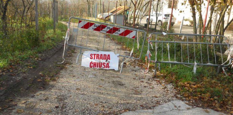 Località Scrofeta, fondi per la messa in sicurezza della strada comunale Campilonghi