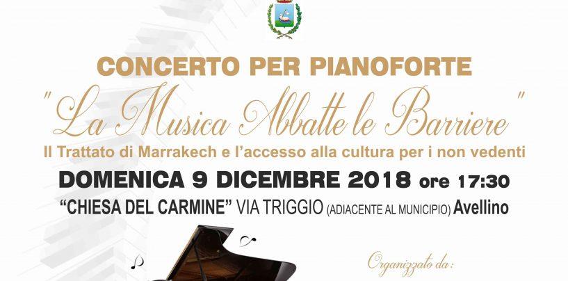 """""""La Musica abbatte le barriere"""": ad Avellino concerto di artisti non vedenti campani"""