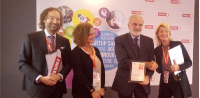 """Progetto """"Heart Avellino"""", il Commissario Priolo ritira il premio innovazione Smau"""