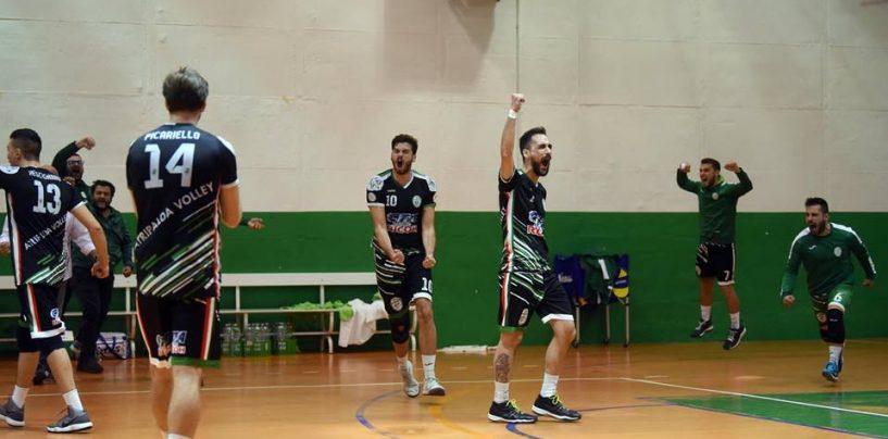 Urlo Atripalda Volleyball: tre punti d'oro per la salvezza