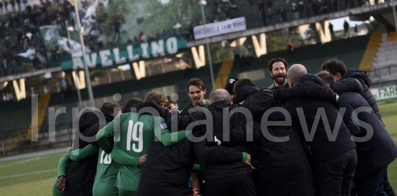 Avellino-Lupa Roma, la fotogallery del successo biancoverde