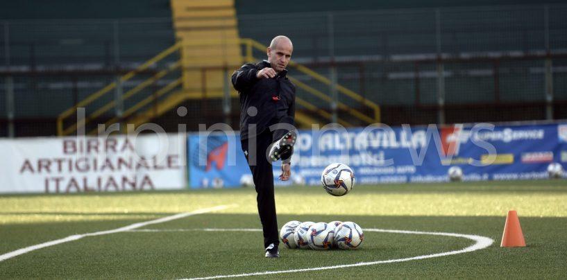 Calcio Avellino, Bucaro pensa alle due punte dal primo minuto