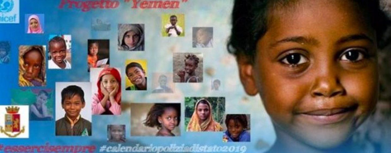 La Polizia per lo Yemen: il Questore presenta il nuovo calendario