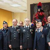Carabinieri, scambio di auguri con l'ispettore regionale di ANC Cagnazzo