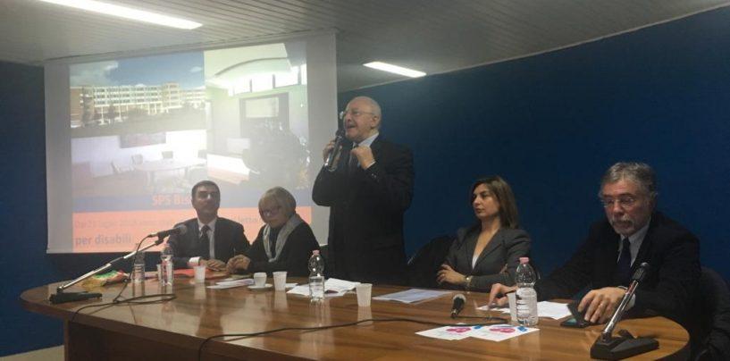 """De Luca ad Ariano: """"Piano ospedaliero di qualità, basta polemiche"""""""