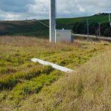 Si spezza l'elica di una pala eolica, paura in Alta Irpinia