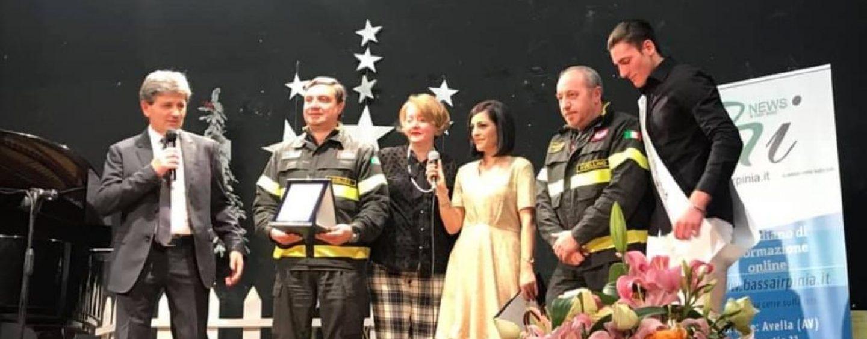"""Interventi di soccorso nel 2018, premio """"Bassa Irpinia"""" per i Vigili del Fuoco"""