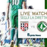 LIVE/ Torres-Avellino in tempo reale