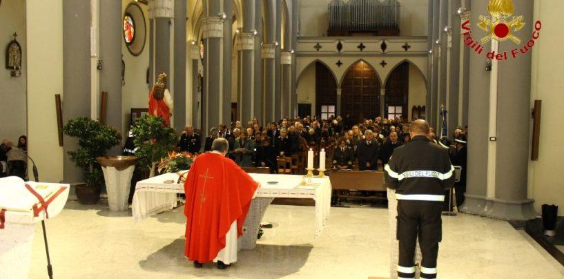 I Vigili del Fuoco di Avellino festeggiano la loro patrona Santa Barbara