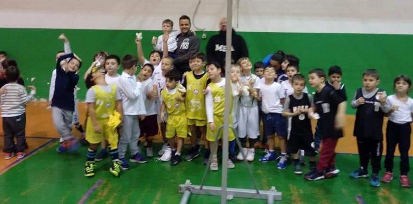 Duecento piccoli atleti per la festa provinciale del minibasket