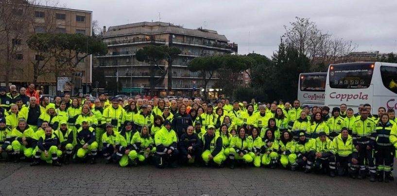 Protezione Civile, delegazione irpina da Papa Francesco