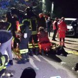 VIDEO/ Tragedia in discoteca ad Ancona, ecco le immagini del crollo