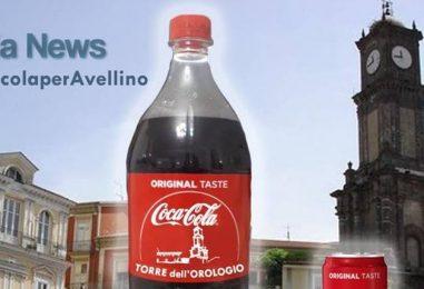 La torre dell'orologio sulla Coca Cola: lrpinianews lancia l'iniziativa
