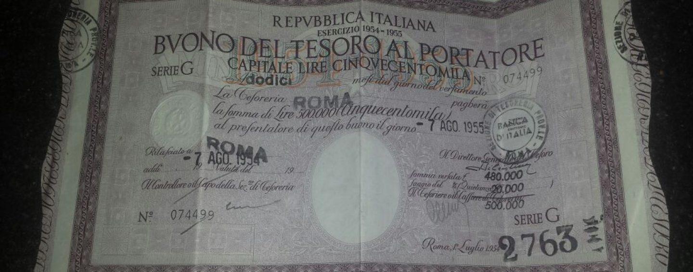 La storia di nonna Antonella: a 104 anni trova un vecchio BOT che vale un milione di euro