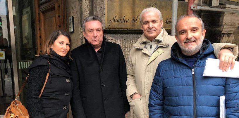 """Lavoratori ex Isochimica al Mise, Pallini: """"Mio impegno è e sarà massimo"""""""