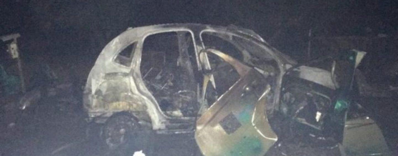 Boato nella notte a Ceppaloni: esplode un'auto, probabile atto doloso