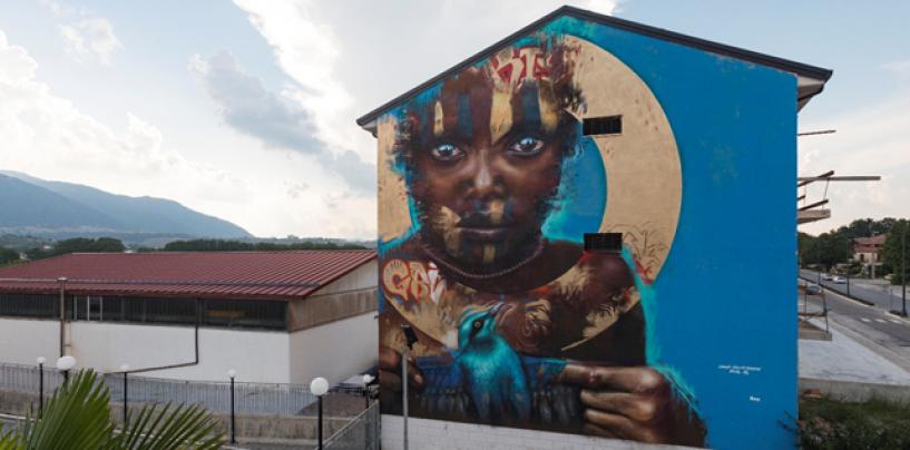 Bag Out, un anno da urlo: a Lioni parlano i murales