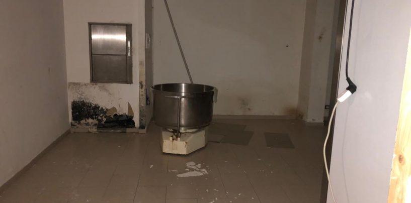 Lavoro in nero e carenze igienico-sanitarie in un bar del centro