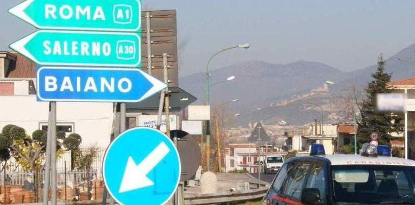 Cantiere prende fuoco a Baiano: indagini in corso