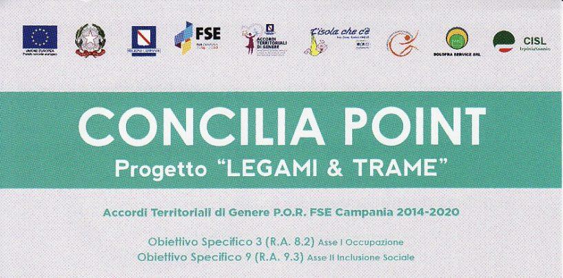 Progetto Legami e trame: continua l'attività dei Concilia Point a sostegno delle donne