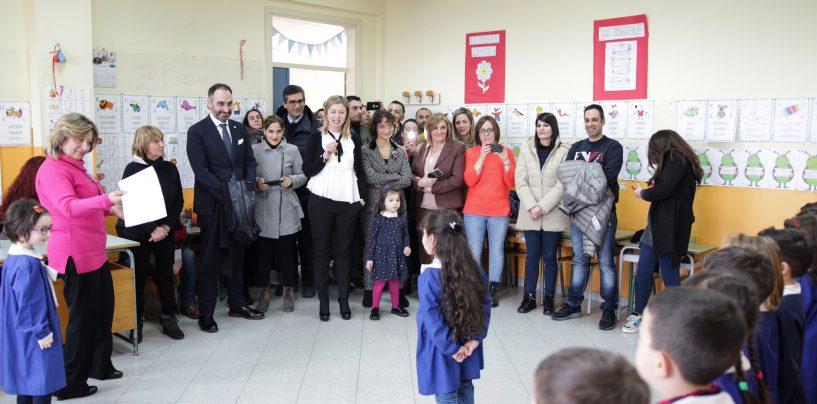 """FOTO/ Cittadinanza e Costituzione al centro dell'open day dell'Ic """"Ambrosini"""" di Montemiletto-Venticano"""