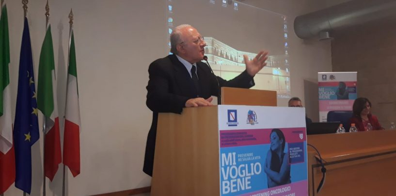 Regionalismo, il Governatore ritorna ad Avellino: dibattito con Festa, Petitto e De Caro