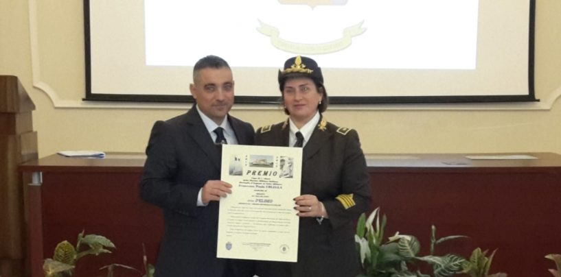"""Il Comandante dei Vigili del Fuoco D'Eliseo premiata alla """"Nunziatella"""""""