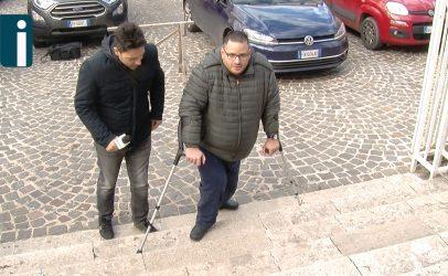 VIDEO/ Duomo di Avellino in mondovisione ma inaccessibile ai disabili