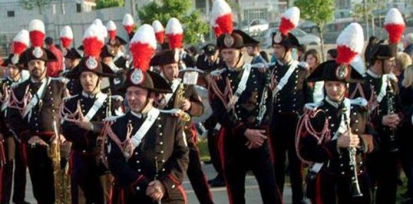 A Summonte il concerto della Fanfara dei Carabinieri