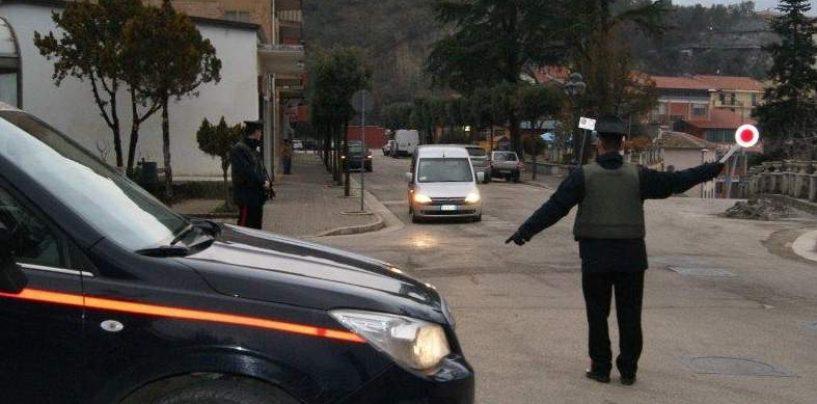 Allarme furti, controlli a tappeto dei Carabinieri: foglio di Via per quattro persone