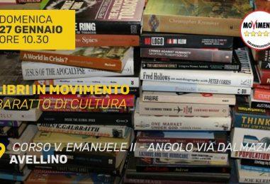 Libri in MoVimento: la nuova iniziativa dei pentastellati. Domenica 27 la raccolta in corso Vittorio Emanuele