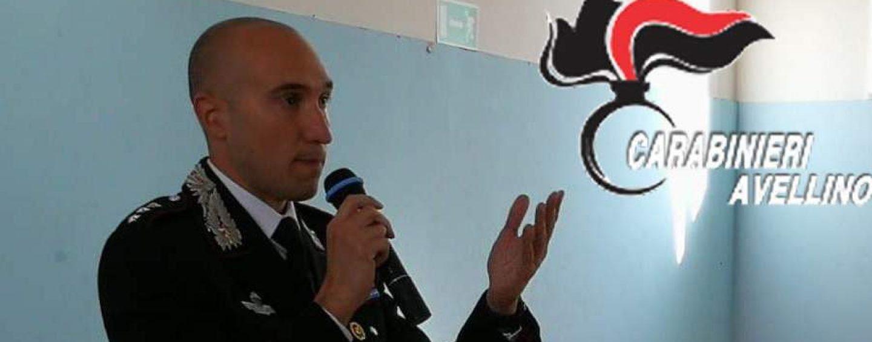 """Cultura della legalità, a Lacedonia i carabinieri incontrano gli alunni del """"De Sanctis"""""""