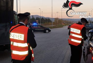 Giro di vite ad Ariano, ecco il bilancio dei controlli dei carabinieri