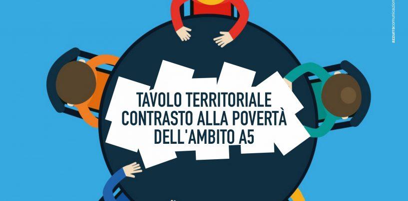 """Il Consorzio A5 presenta il """"Tavolo territoriale contro la Povertà"""""""