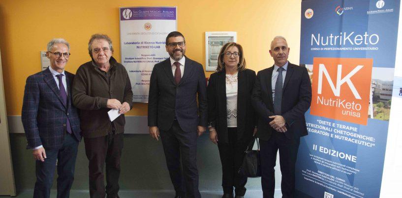 Ricerca nutrizionale, Moscati e UniSa inaugurano il laboratorio