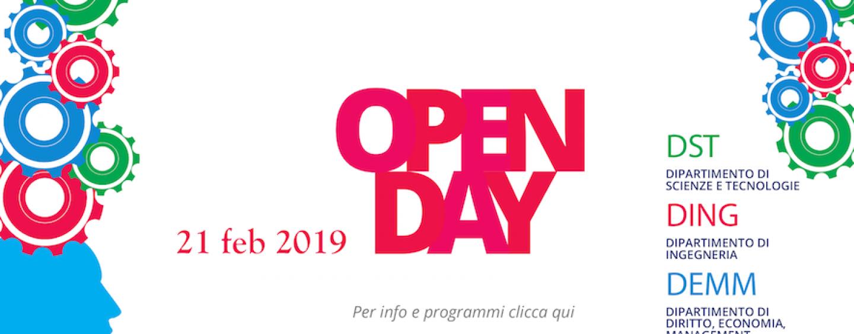 UniSannio, è tempo di OpenDay: in programma visite, seminari e laboratori nei tre Dipartimenti