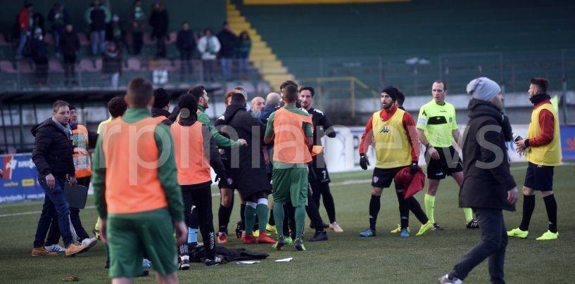 Tensione post-Atletico: l'Avellino e Sforzini pagano il conto