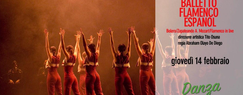 """Un San Valentino a ritmo di flamenco, la danza al Gesualdo chiude con il """"Balletto Flamenco Espanol"""""""