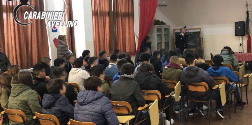 Bullismo e legalità, i Carabinieri di Lioni incontrano gli studenti