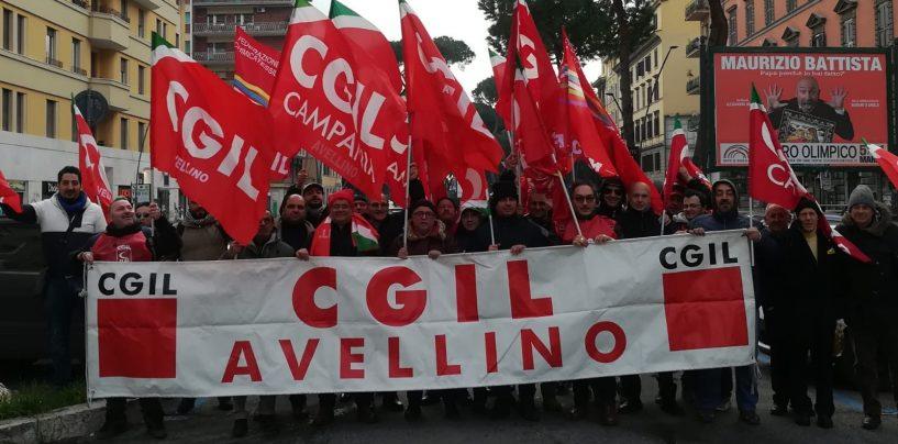 "Cgil a Roma per l'Irpinia, Fiordellisi: ""Infrastrutture e sicurezza"""