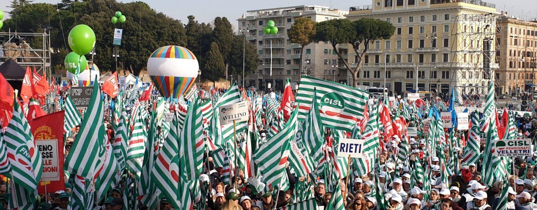 """Manifestazione a Roma, Melchionna (Cisl): """"Il Governo impari a trattare con i sindacati"""""""