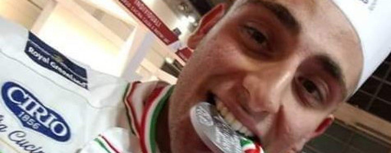 Roberto Leone esulta: il cuoco d'argento d'Italia è di Grottaminarda