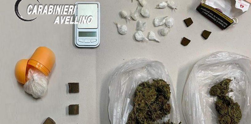 Beccato in casa con hashish, cocaina e crack: arrestato 51enne