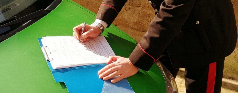 Furto di legna e manodopera senza permesso di soggiorno: nei guai una ditta di Solopaca