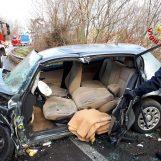 Violento scontro sull'Ofantina tra quattro vetture: ferite tre persone