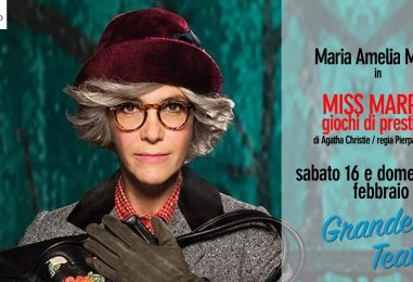 """Miss Marple"" il giallo di Agatha Christie va in scena al Gesualdo"