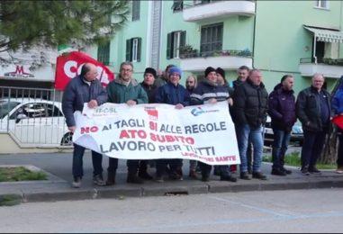 VIDEO/ Benevento, arriva Costa: i lavoratori dello Stir di Casalduni in presidio. Parla di coordinatore Fp Cgil, Antonio Tizzani